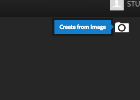 Click the 'create from image' icon