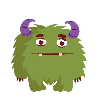 Hairy Monster Gif
