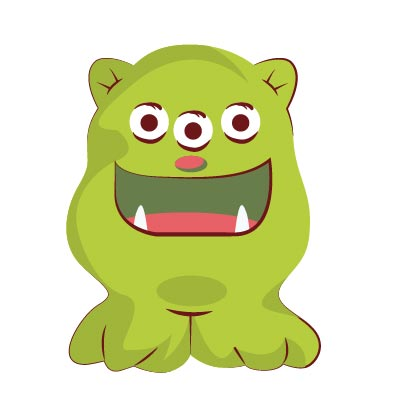 Happy Monster Gif