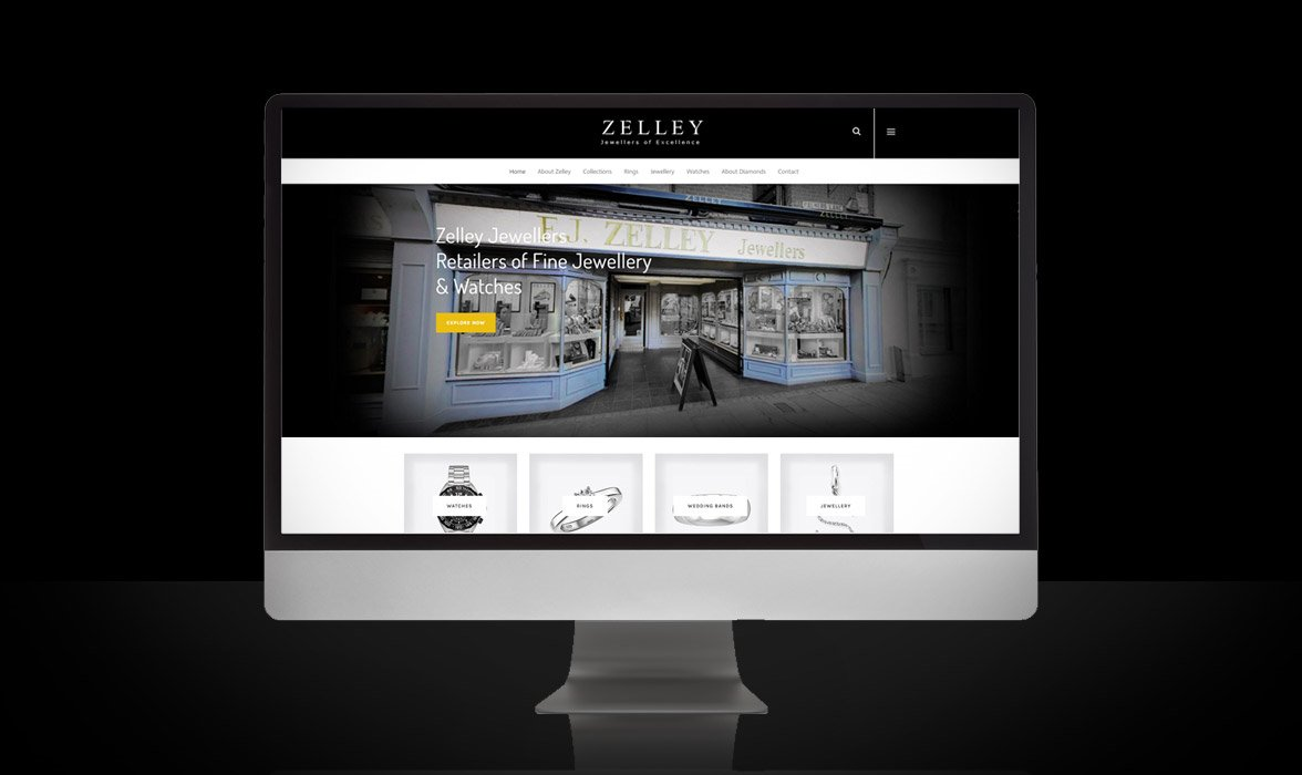 Zelley Jewellers Website