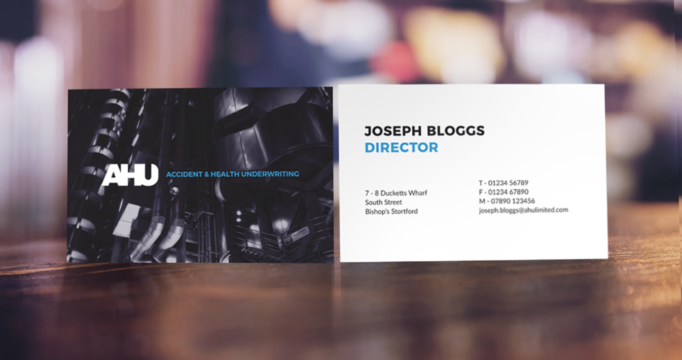 AHU business card