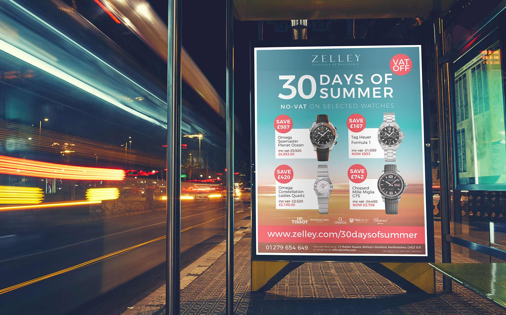 30 Days of Summer Bus Advert